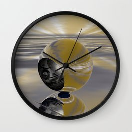 Respite Wall Clock