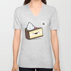 Eat Me! - Wonderland Kawaii Cake Unisex V-Neck
