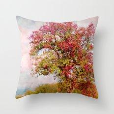 Romantic autumn Throw Pillow