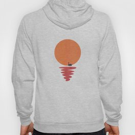 Paper Swan in the Sunset Hoody