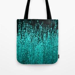 Grasses Aqua 2 Tote Bag