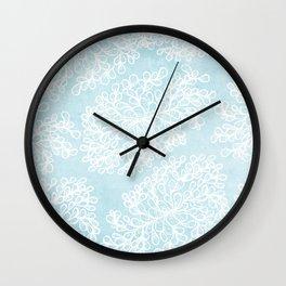 Fantasy leaves Wall Clock