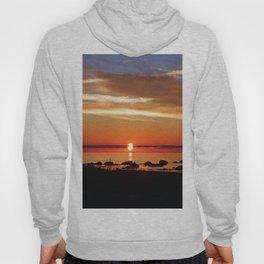 Split Sun Sunset on the Sea Hoody