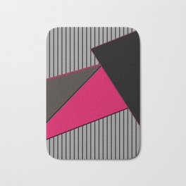 An abstract geometric pattern . Tango Bath Mat