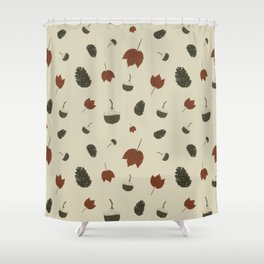 Forest Treasures Shower Curtain
