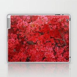Charming Red Flower Laptop & iPad Skin