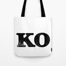 KO Tote Bag