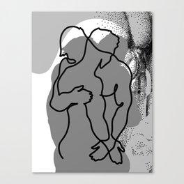 NOODDOOD Lines 13 Canvas Print