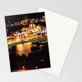 Las luces de Vancouver Stationery Cards