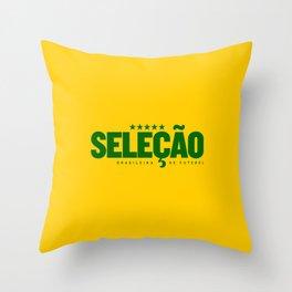 Brasil (World Cup 2018) Throw Pillow