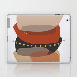 Modern minimal forms 5 Laptop & iPad Skin