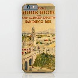 1915 Panama–California Exposition iPhone Case