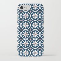 kiki iPhone & iPod Cases featuring Linen Kiki by November Tigerlilly