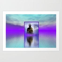 peace and silence Art Print