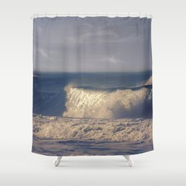 A Perfect Wave Shower Curtain