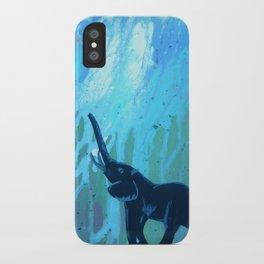 Elephant Joy iPhone Case