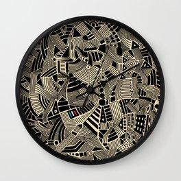 - flore - Wall Clock
