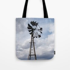 Left to the Elements...Abandoned Windmill Tote Bag