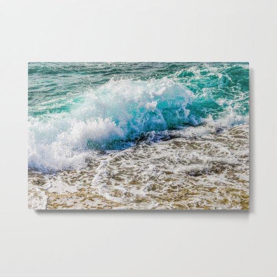 Make A Splash Metal Print