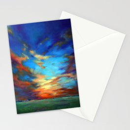 Sunset in the Heartland Stationery Cards