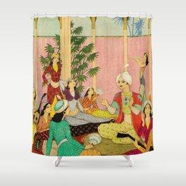 King Agib by Rudolf Koivu Shower Curtain
