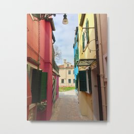 Been There, Shot That (Pt. 7 – Burano, Italy) Metal Print