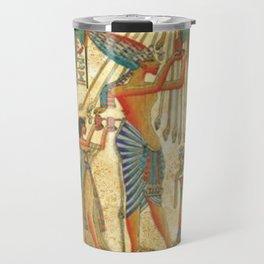 egyptian man sun god ra amun Travel Mug