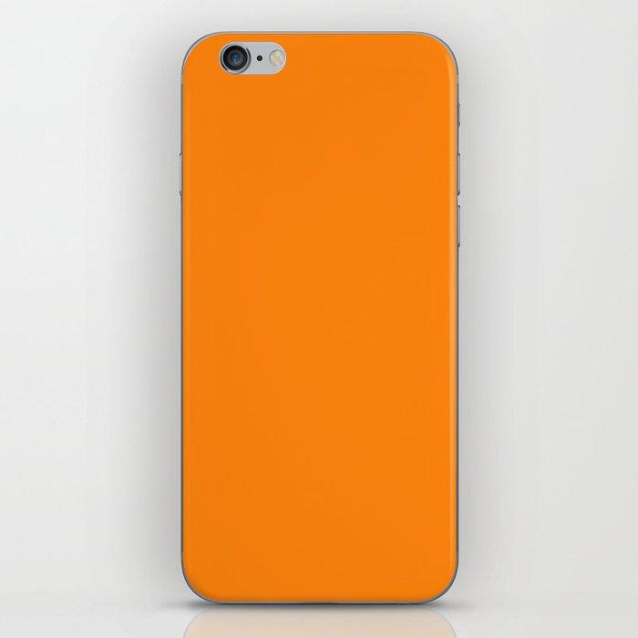 Turmeric Pantone fashion pure color trend Spring/Summer 2019 iPhone Skin
