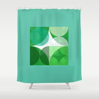square Shower Curtains featuring Square  by LoRo  Art & Pictures