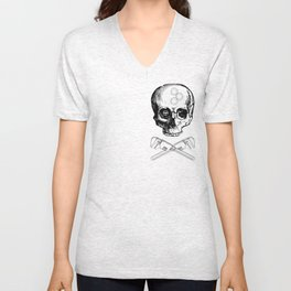 Gear Heads and Monkey Wrenches Unisex V-Neck