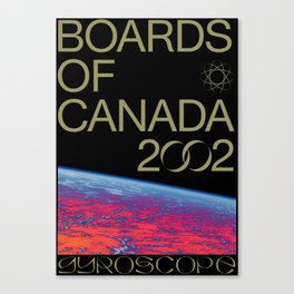BOARDS OF CANADA - GYROSCOPE Canvas Print