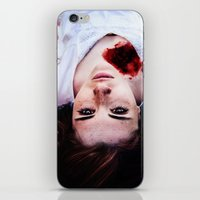 pain iPhone & iPod Skins featuring Pain by Lídia Vives
