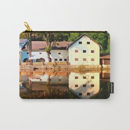 River reflections at the mill | waterscape photography Carry-All Pouch