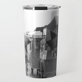 Rainy Day in Lower Manhattan Travel Mug