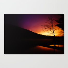 Dawn Begins to Creep (Fine Art Landscape Photography) Canvas Print