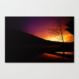 Dawn Begins to Creep (Fine Art Landscape Photography) Canvas Print