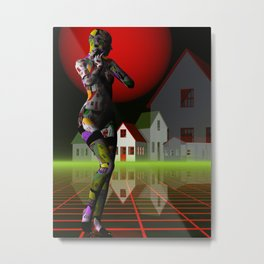 the housewife Metal Print