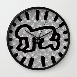 Keith Haring: Radiant Baby from Icons series, 1990 Wall Clock