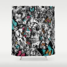 Butter and bones Shower Curtain