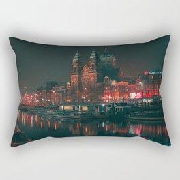 Basilika St. Nikolaus / Amsterdam / Bladerunner Vibes Rectangular Pillow