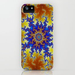 Fractal Checkerboard iPhone Case