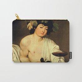 """Michelangelo Merisi da Caravaggio """"Bacchus"""" Carry-All Pouch"""