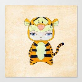 A Boy - Tigger Canvas Print