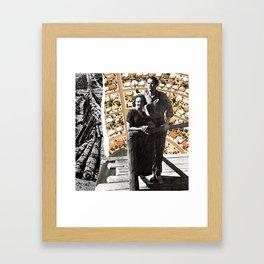Safe American Home Framed Art Print
