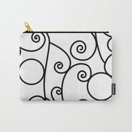 Parisian Scroll Carry-All Pouch