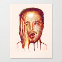 jesse pinkman Canvas Prints featuring Jesse Pinkman by beart24