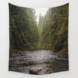 Salmon River II Wall Tapestry