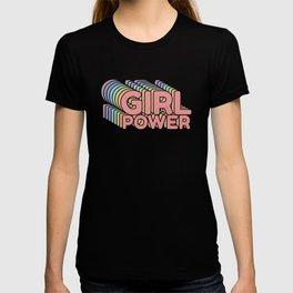 Girl Power grl pwr Retro T-shirt
