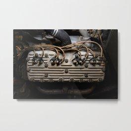 Hotrod Eddie Myer Flathead Engine Metal Print