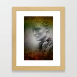 in the shop window -f- Framed Art Print